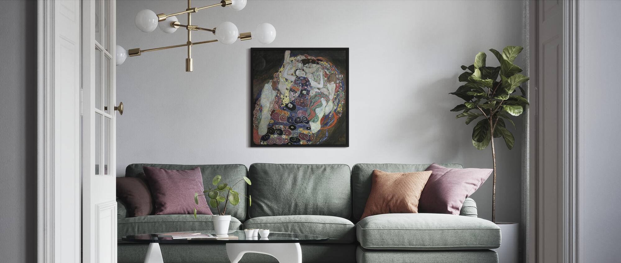 Maagd - Ingelijste print - Woonkamer
