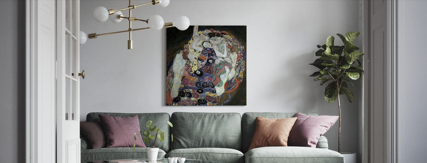 Virgin - Canvas print - Living Room