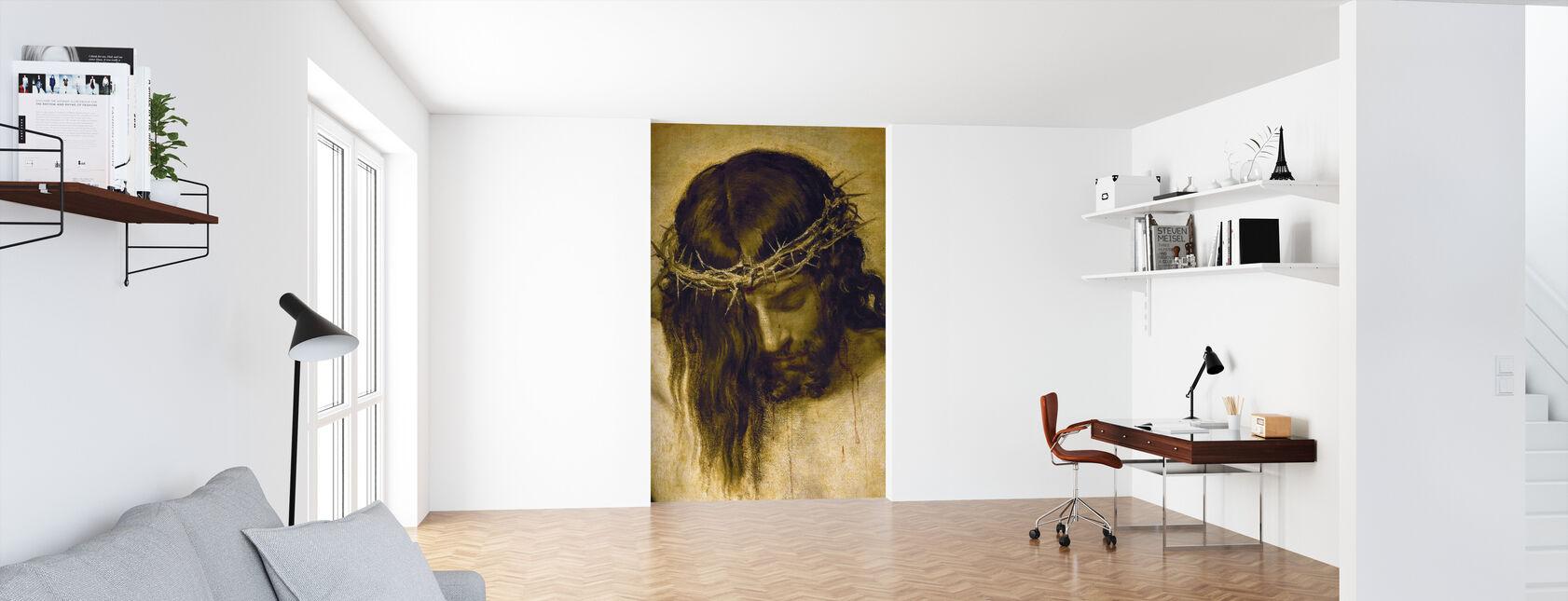 Korsfæstede Kristus - Tapet - Kontor