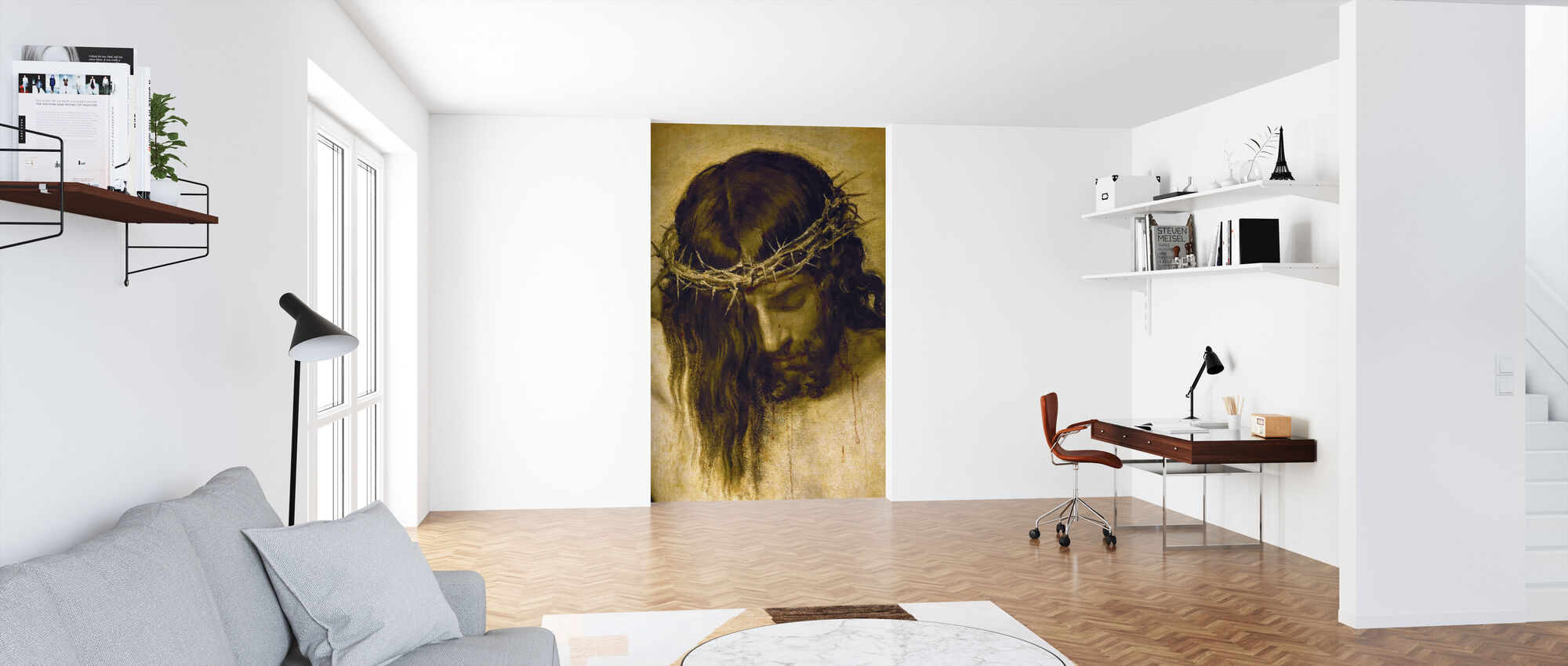 Crucified Christ - Wallpaper - Office