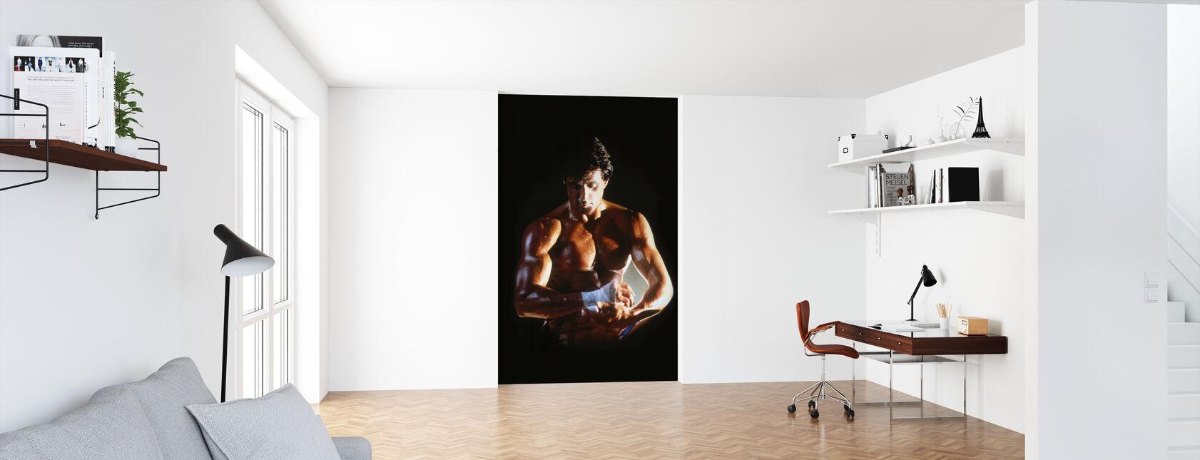 Sylvester Stallone in Rocky IV - Tapete - Büro