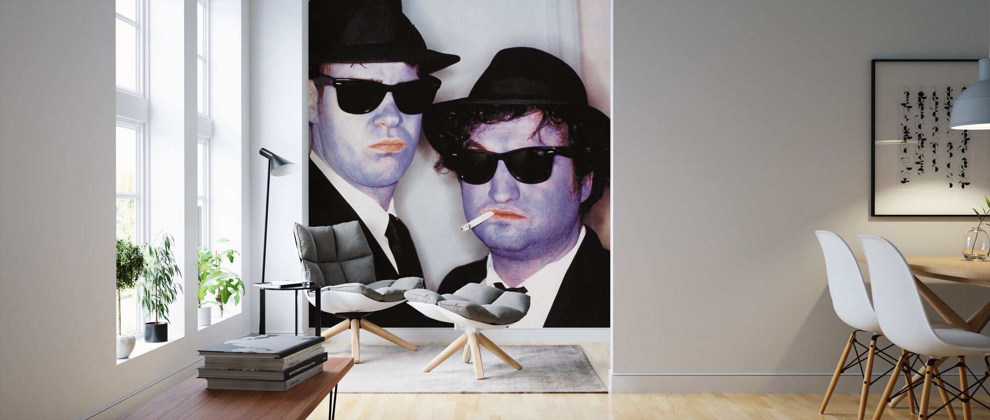 Blues Brothers - Wallpaper - Living Room