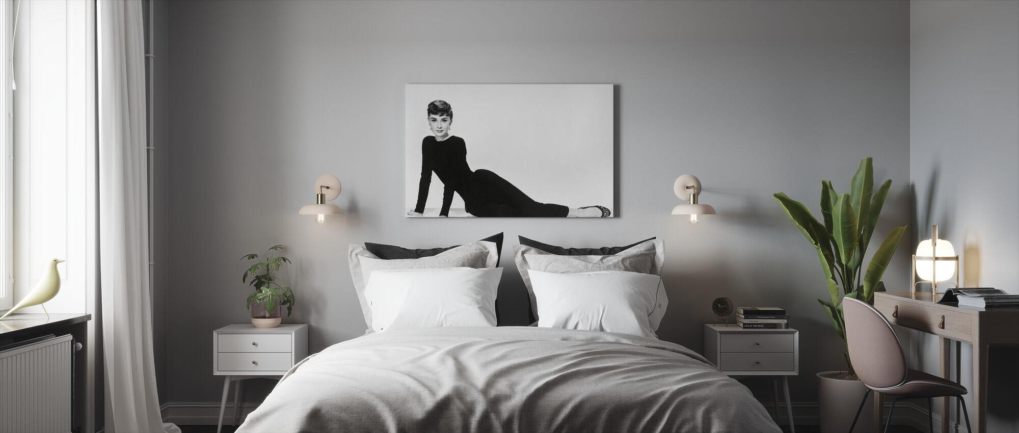 Audrey Hepburn i Sabrina - Canvastavla - Sovrum