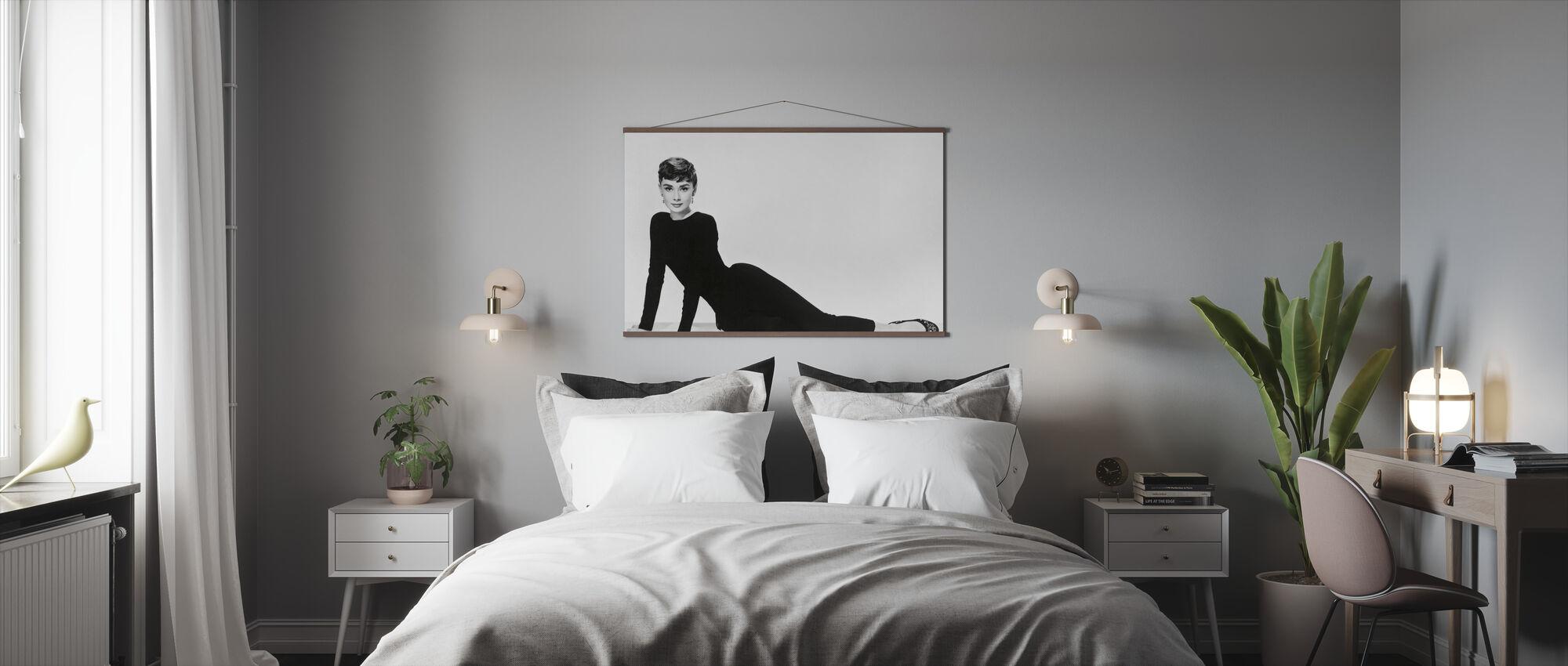 Audrey Hepburn in Sabrina - Poster - Bedroom