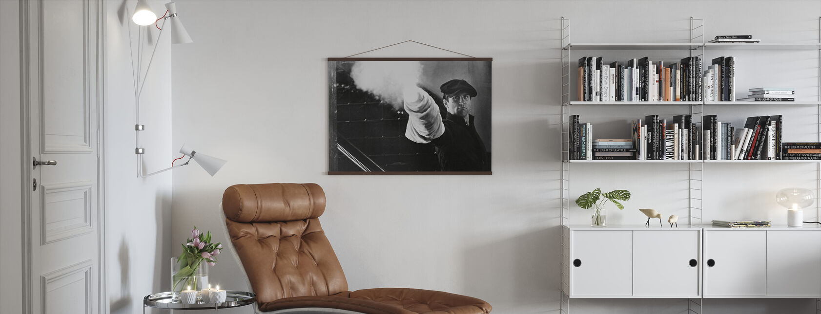Robert De Niro in the Godfather Part II - Poster - Living Room