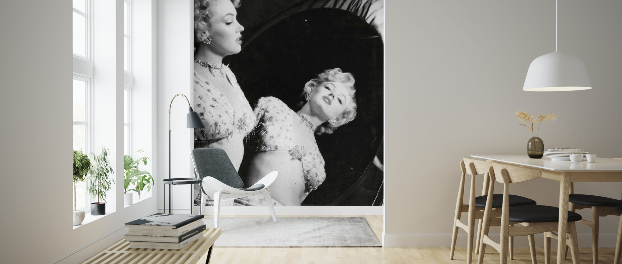 Marilyn Monroe - Wallpaper - Living Room