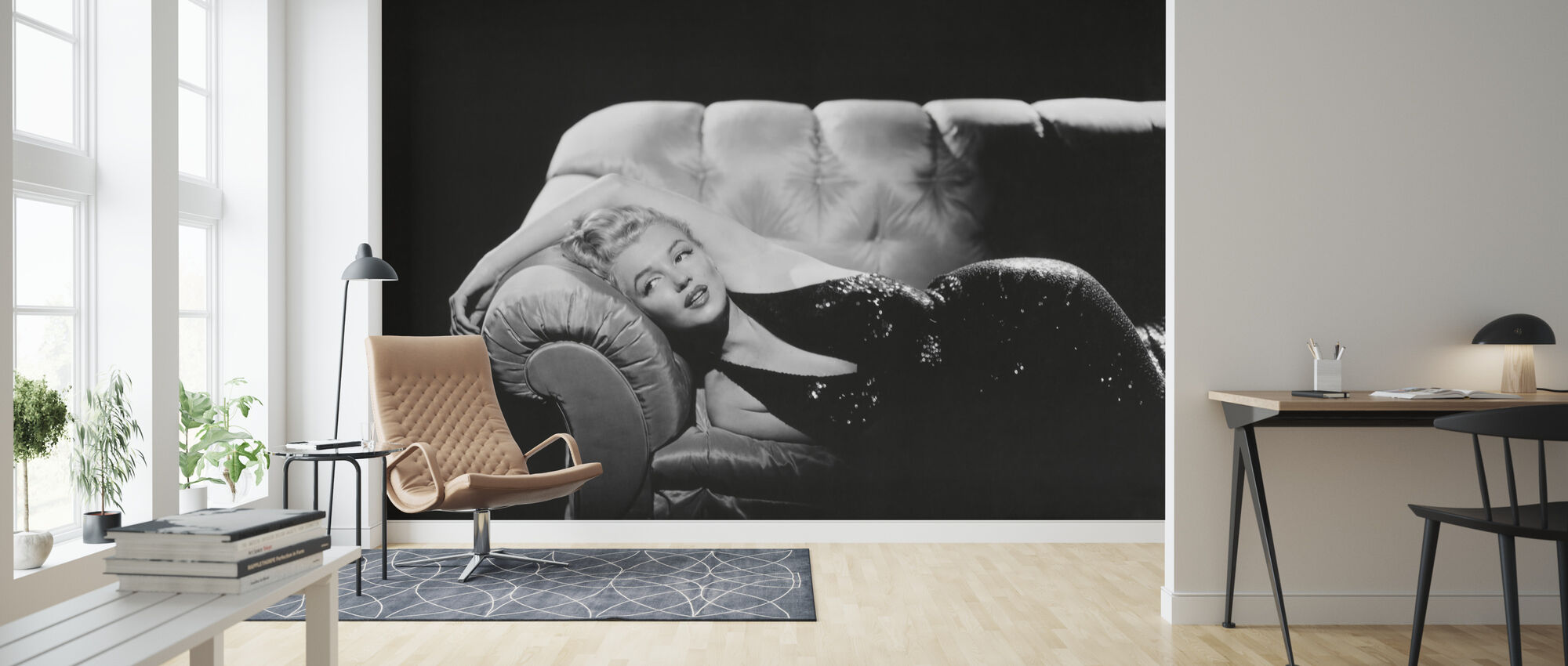 Marilyn Monroe In The Prince And The Showgirl Popular Wall Mural