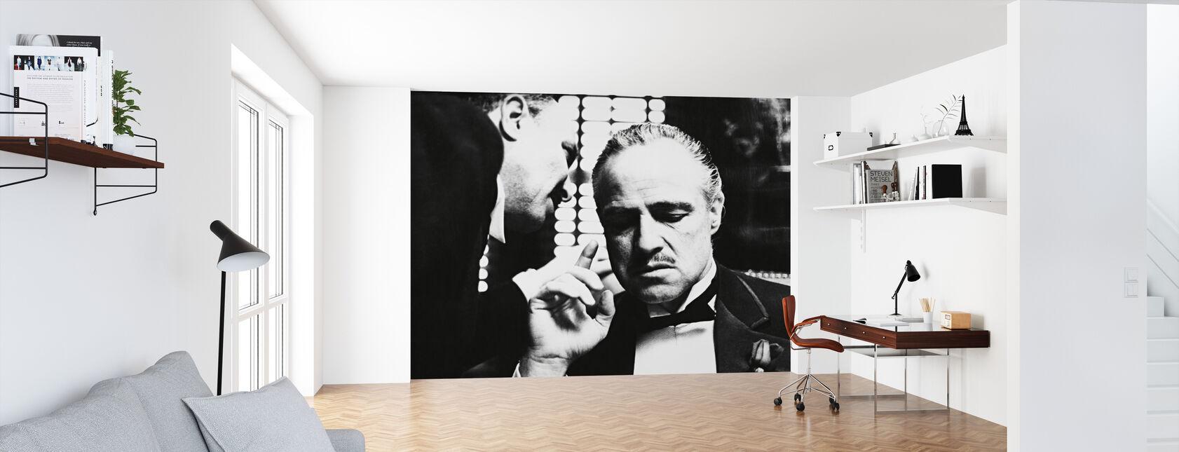 Marlon Brando i Gudfaren - Tapet - Kontor