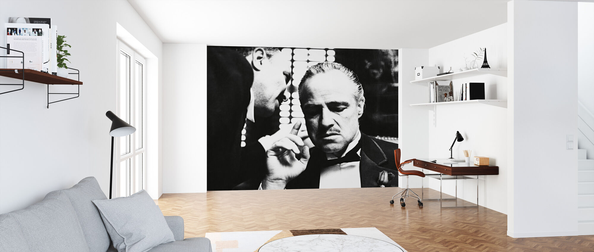 Marlon Brando in the Godfather - Wallpaper - Office