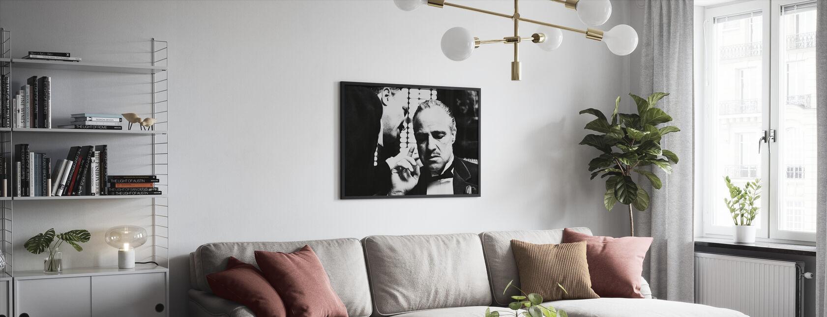 Marlon Brando i gudfadern - Inramad tavla - Vardagsrum