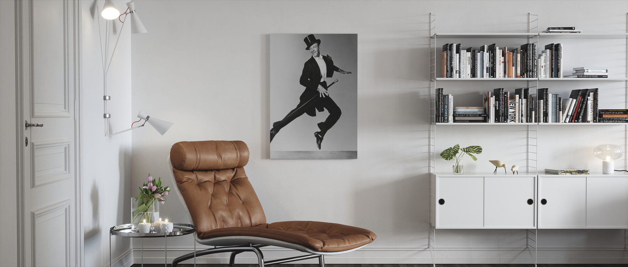 Fred Astaire - Canvas print - Living Room