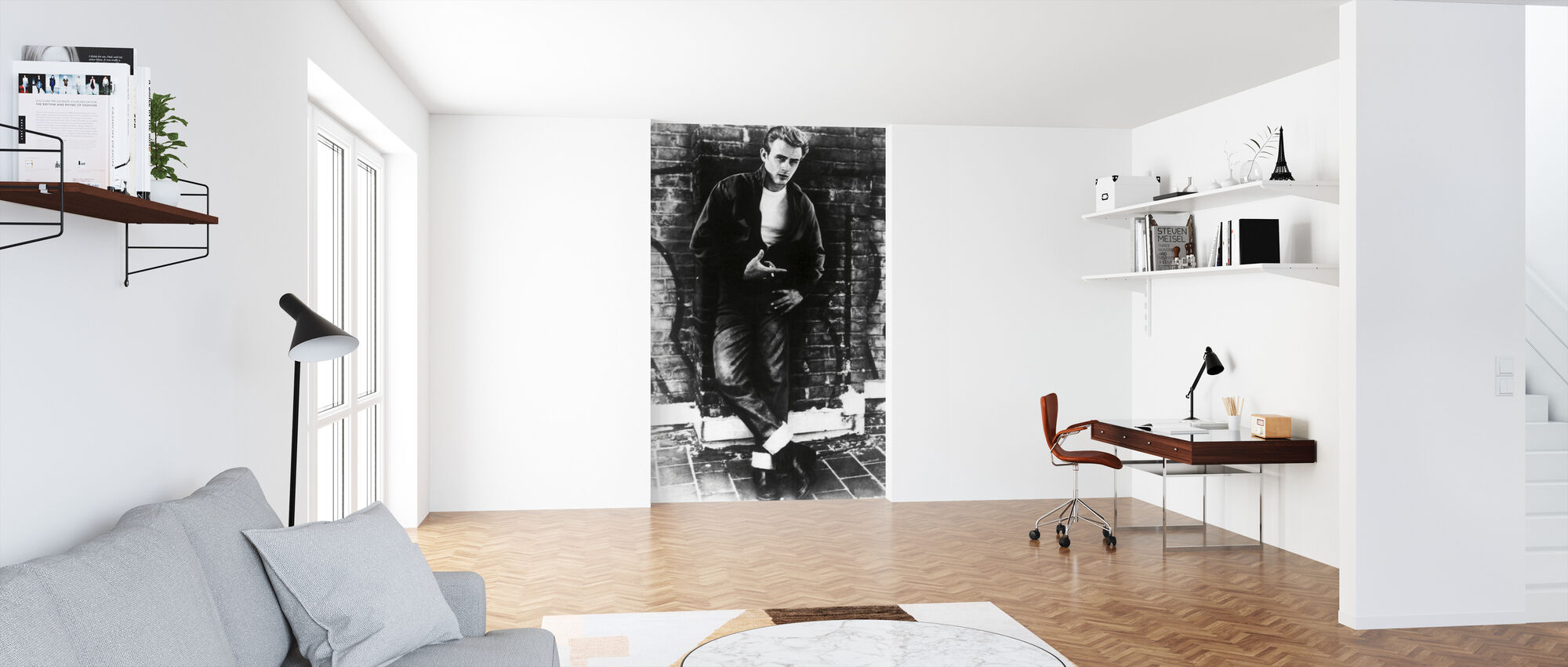 James Dean in Rebel Without a Cause - Wallpaper - Office