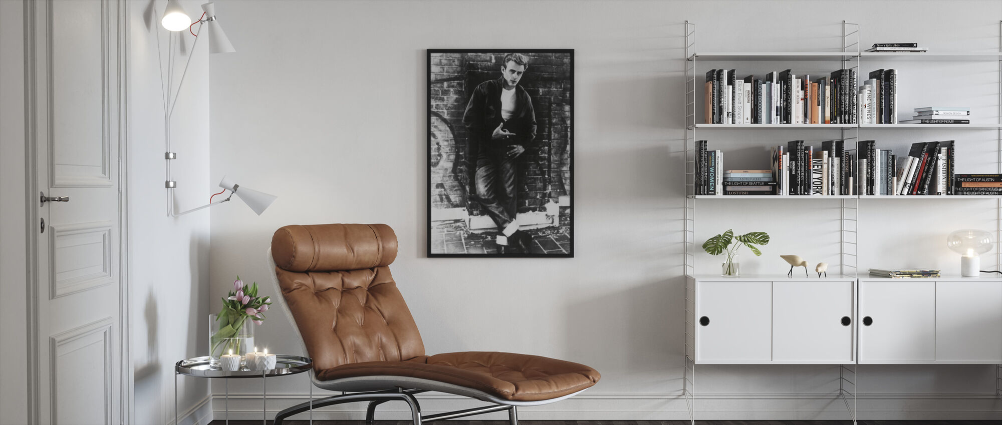 James Dean in Rebel Without a Cause - Framed print - Living Room