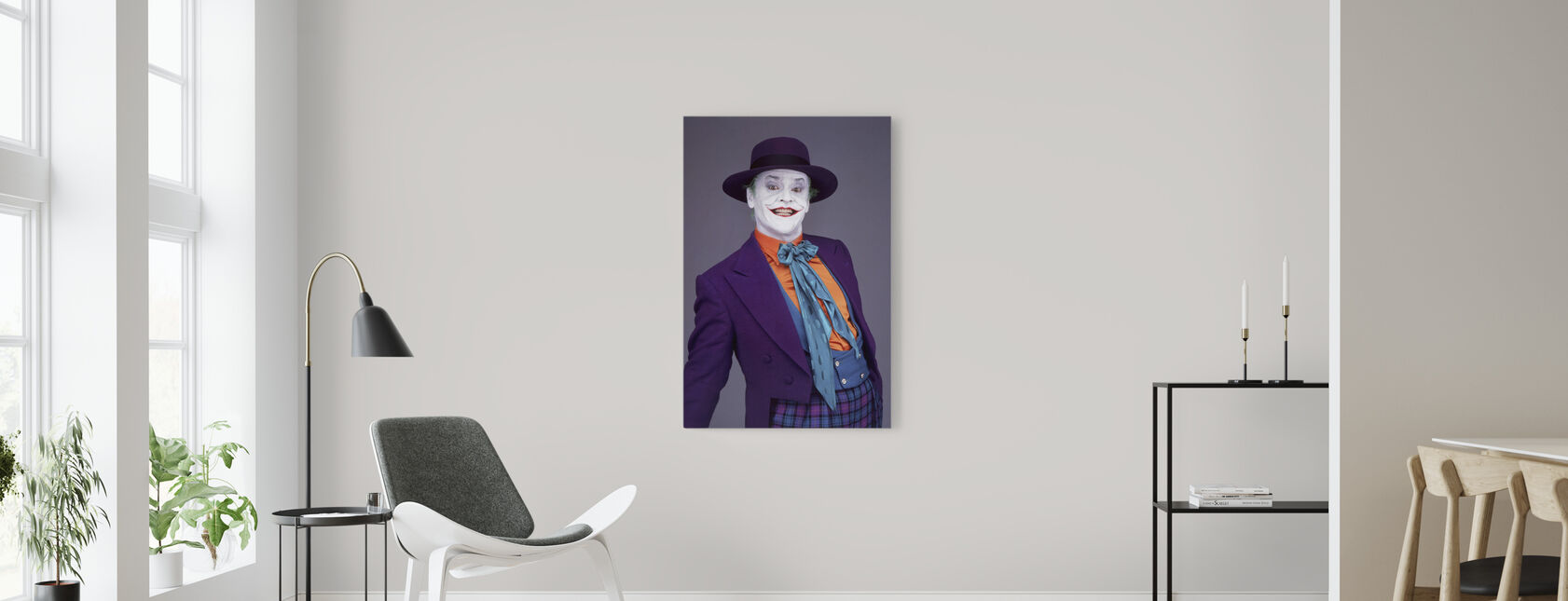 Jack Nicholson en Batman - Billede på lærred - Stue