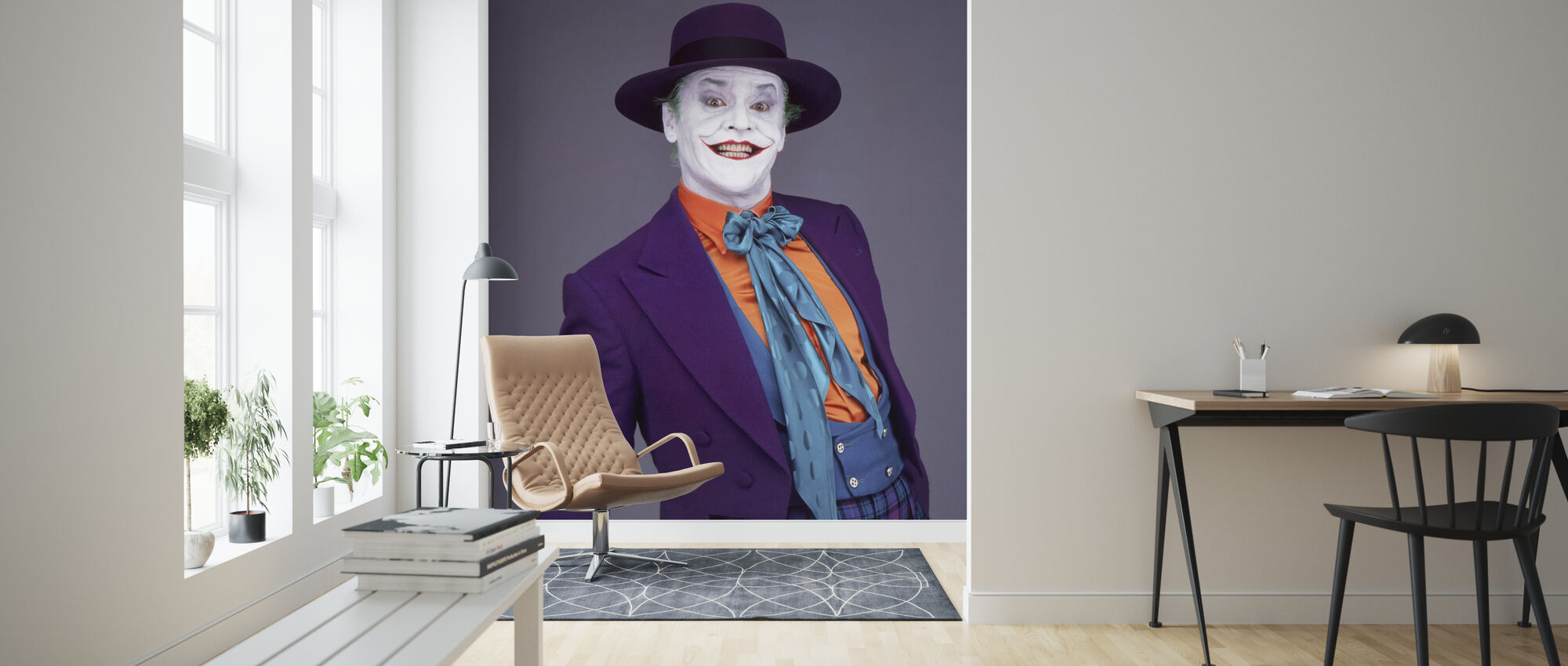 Jack Nicholson in Batman - Wallpaper - Living Room