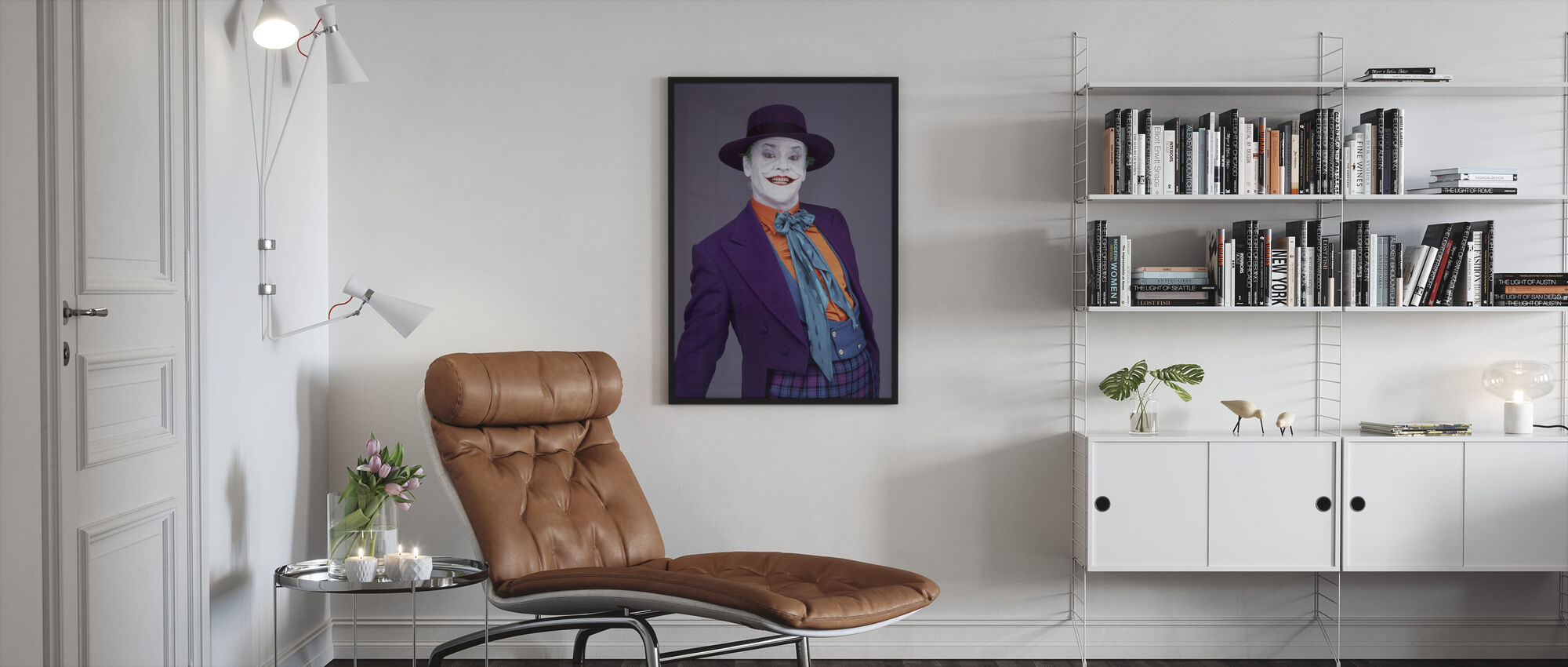 Jack Nicholson in Batman - Framed print - Living Room