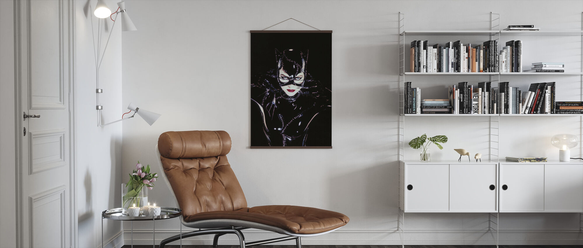 Michelle Pfeiffer en Batman Returns - Poster - Woonkamer