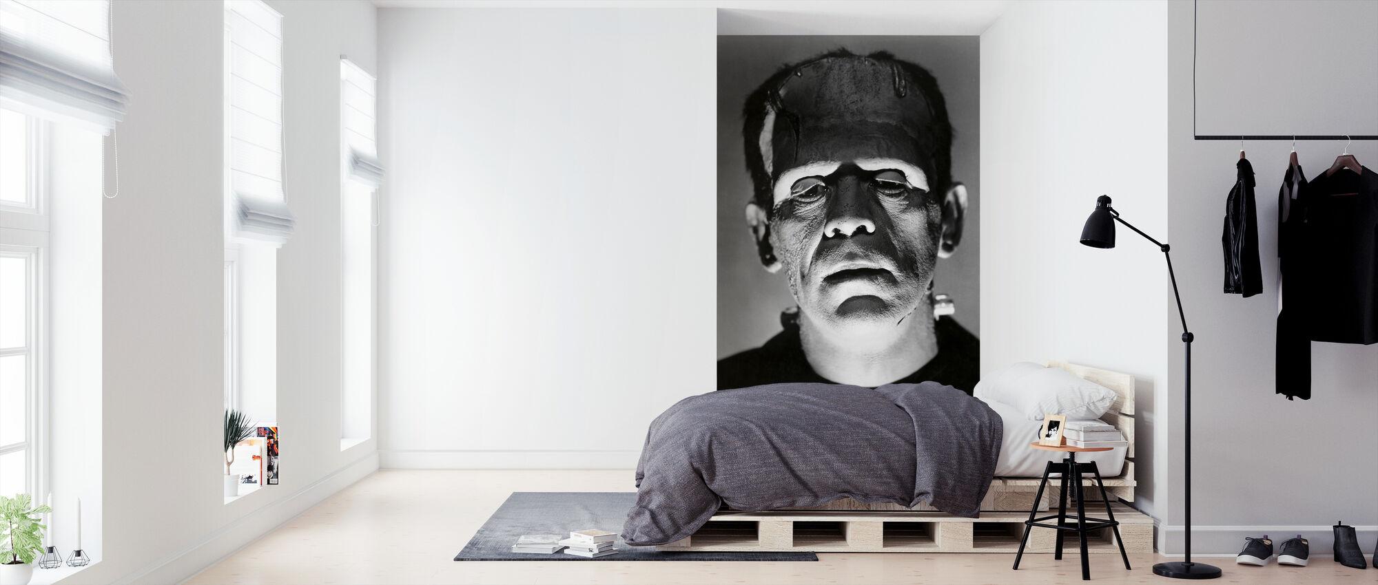 Boris Karloff i Frankensteins brud - Tapet - Sovrum