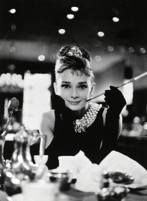 Audrey Hepburn In Breakfast At Tiffanys High Quality Wall