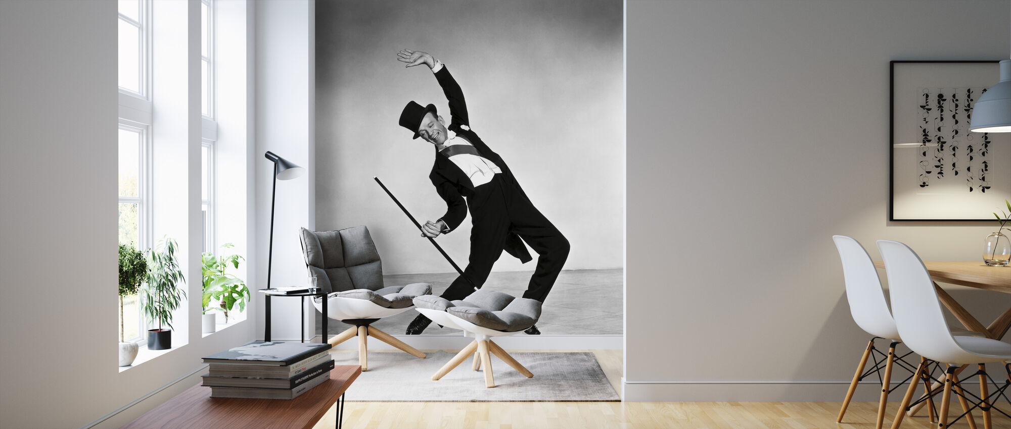 Fred Astaire - Wallpaper - Living Room