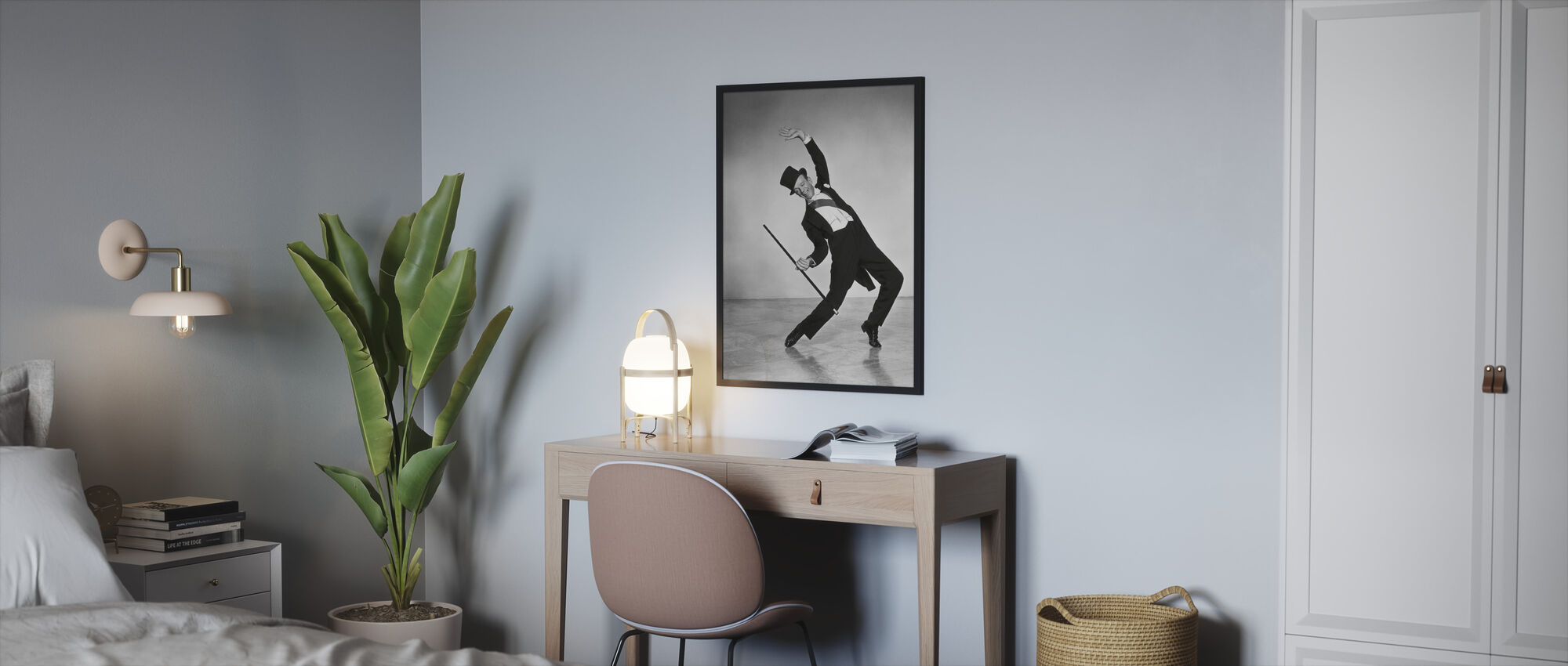 Fred Astaire - Framed print - Bedroom