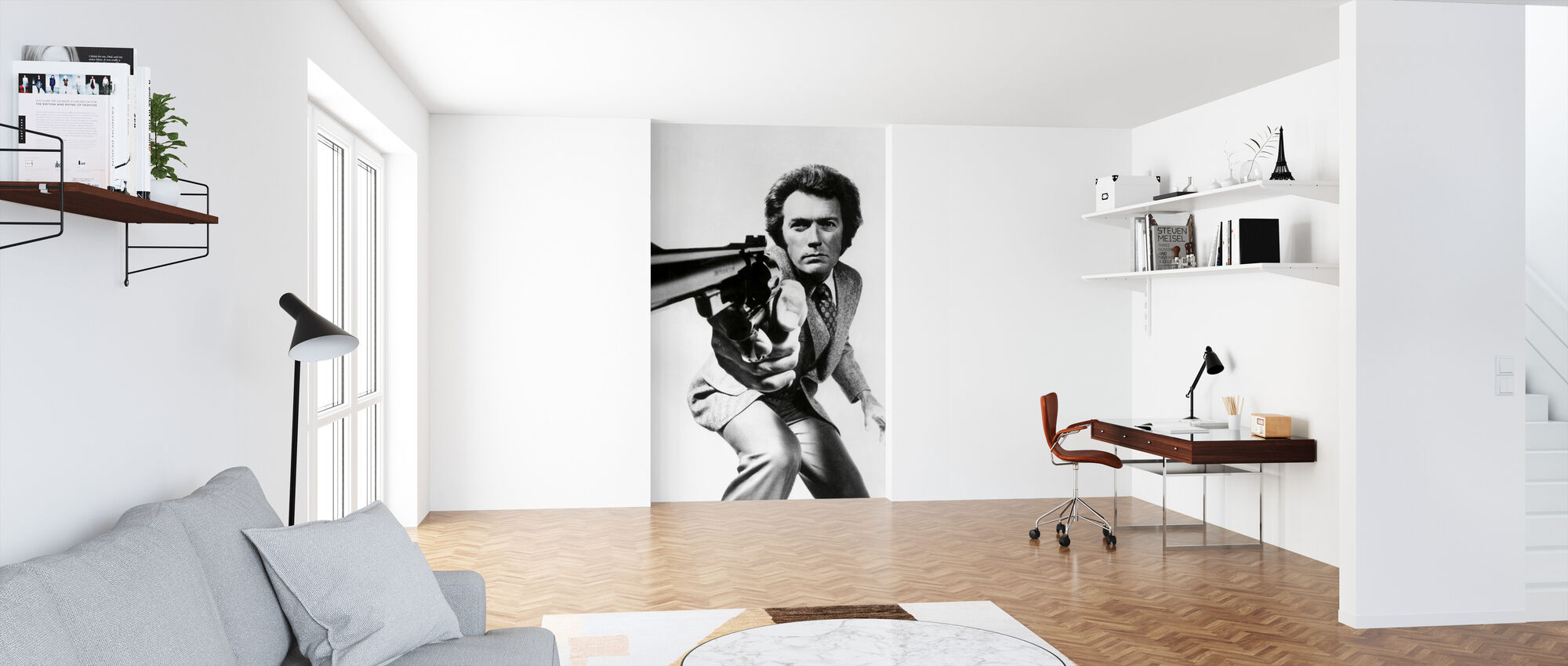 Clint Eastwood in Magnum Force - Wallpaper - Office