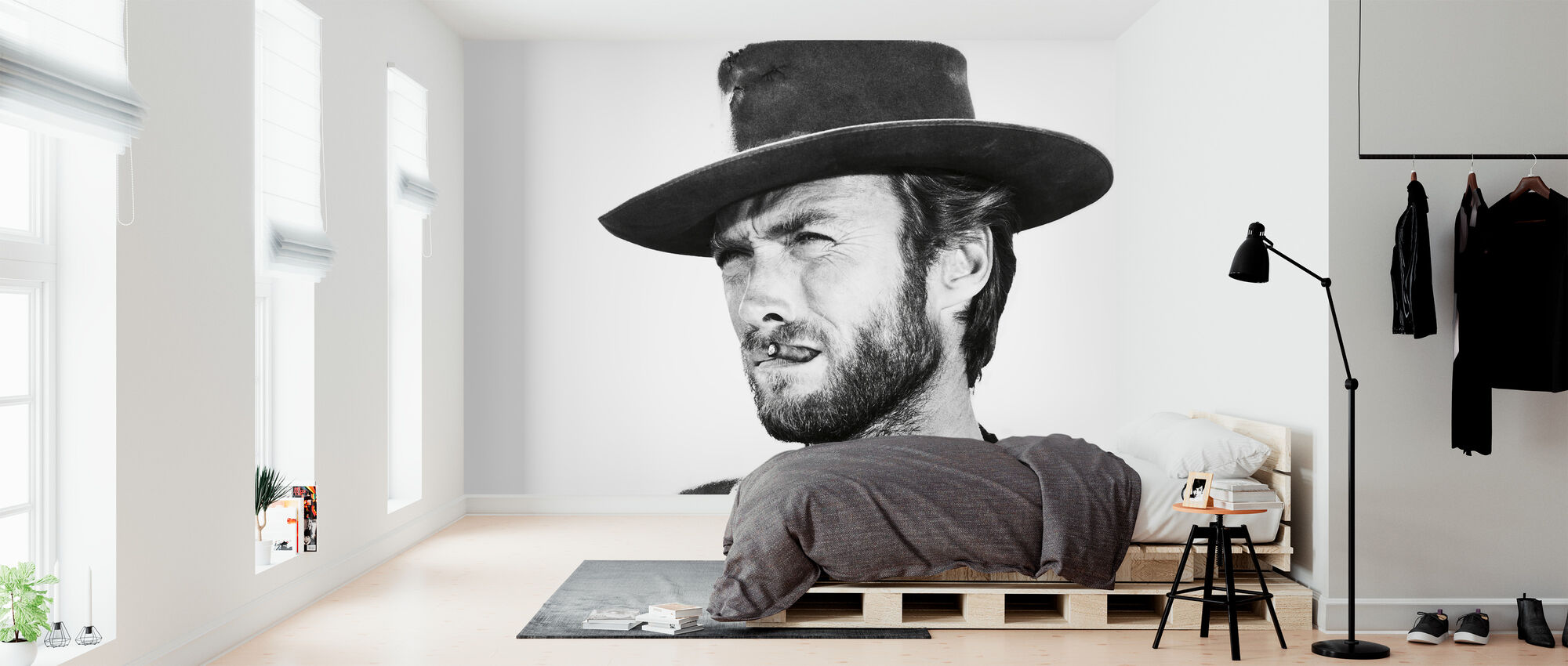 Clint Eastwood In Good The Bad And The Ugly Made To