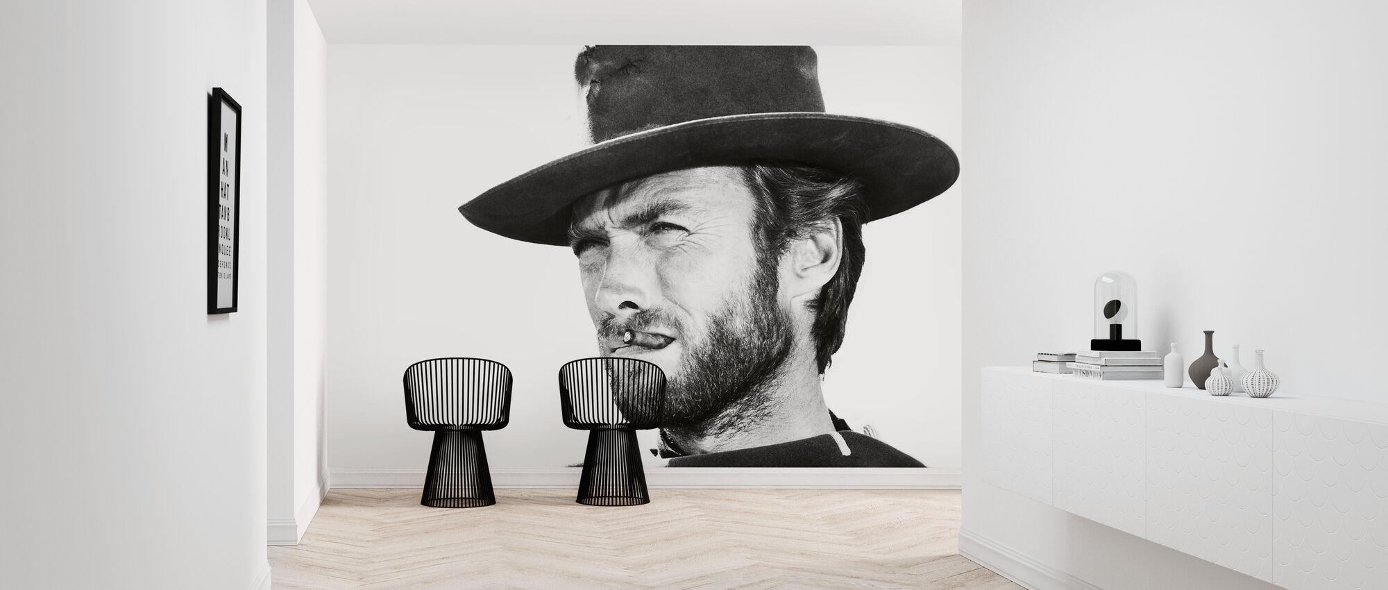 Clint Eastwood In Good The Bad And The Ugly Made To Measure Wall