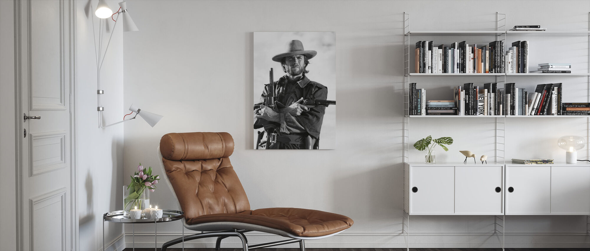 Outlaw Josey Wales - Canvas print - Living Room