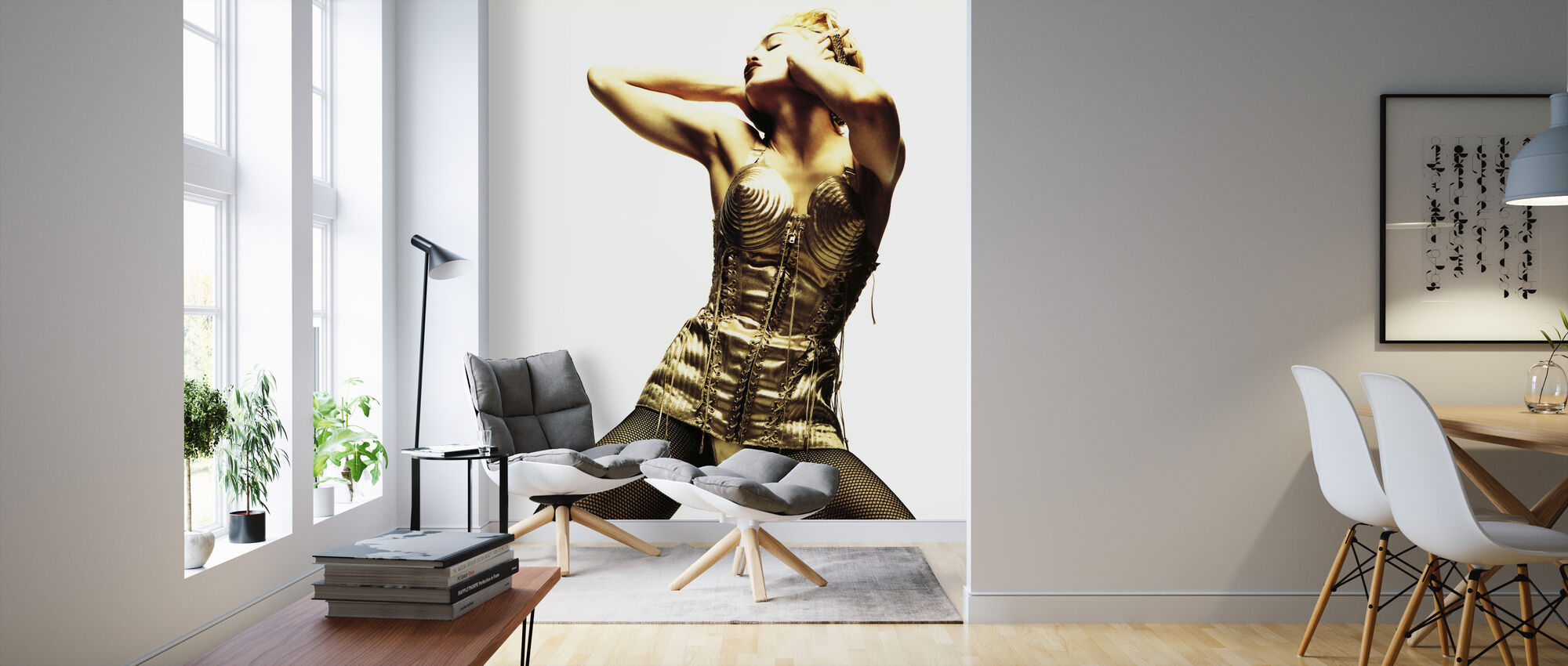 Madonna Truth or Dare - Wallpaper - Living Room
