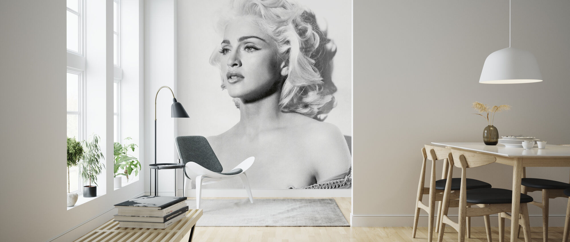 Madonna in Truth or Dare - Wallpaper - Living Room