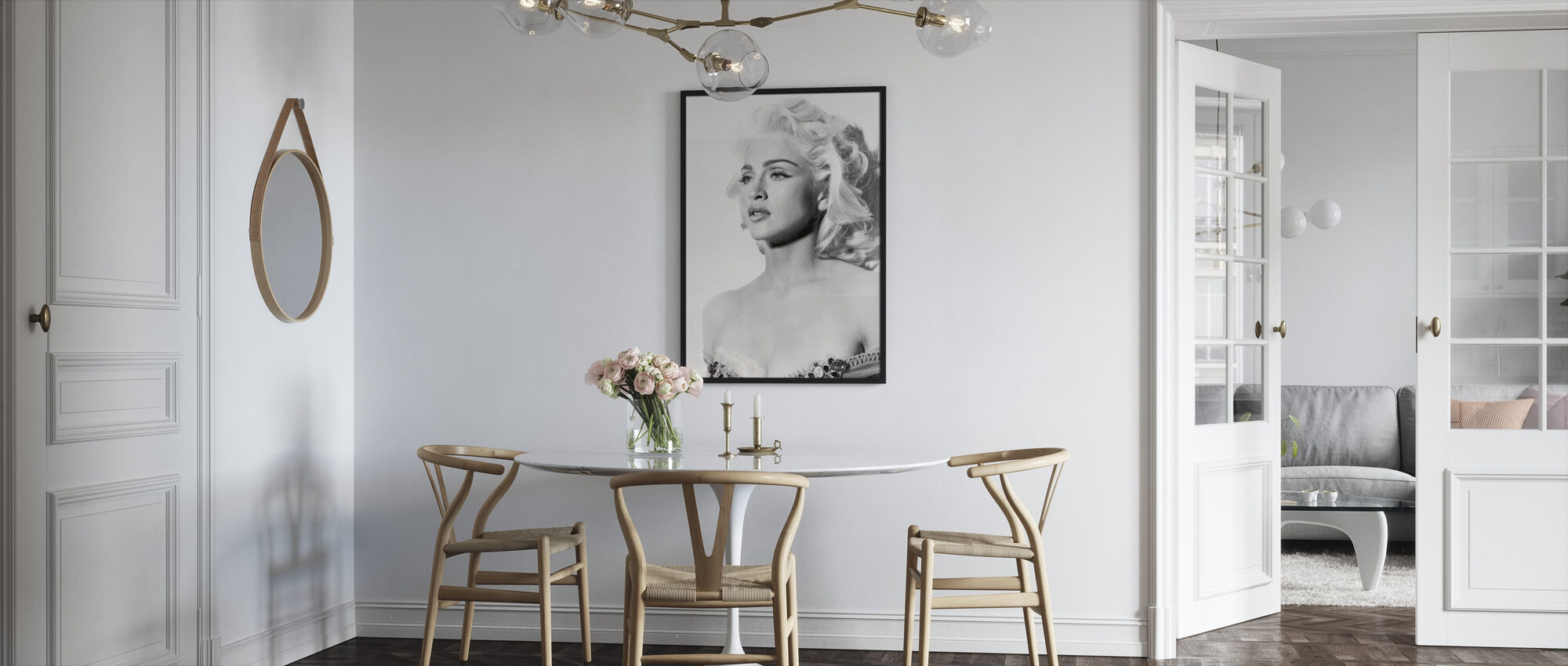Madonna in Truth or Dare - Framed print - Kitchen