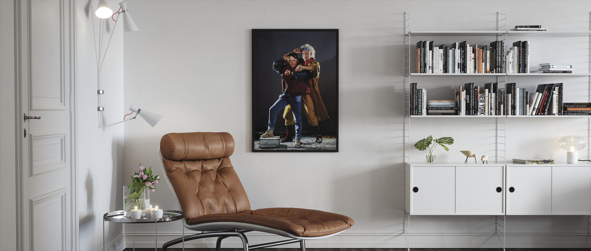 Back to the Future Part II - Framed print - Living Room