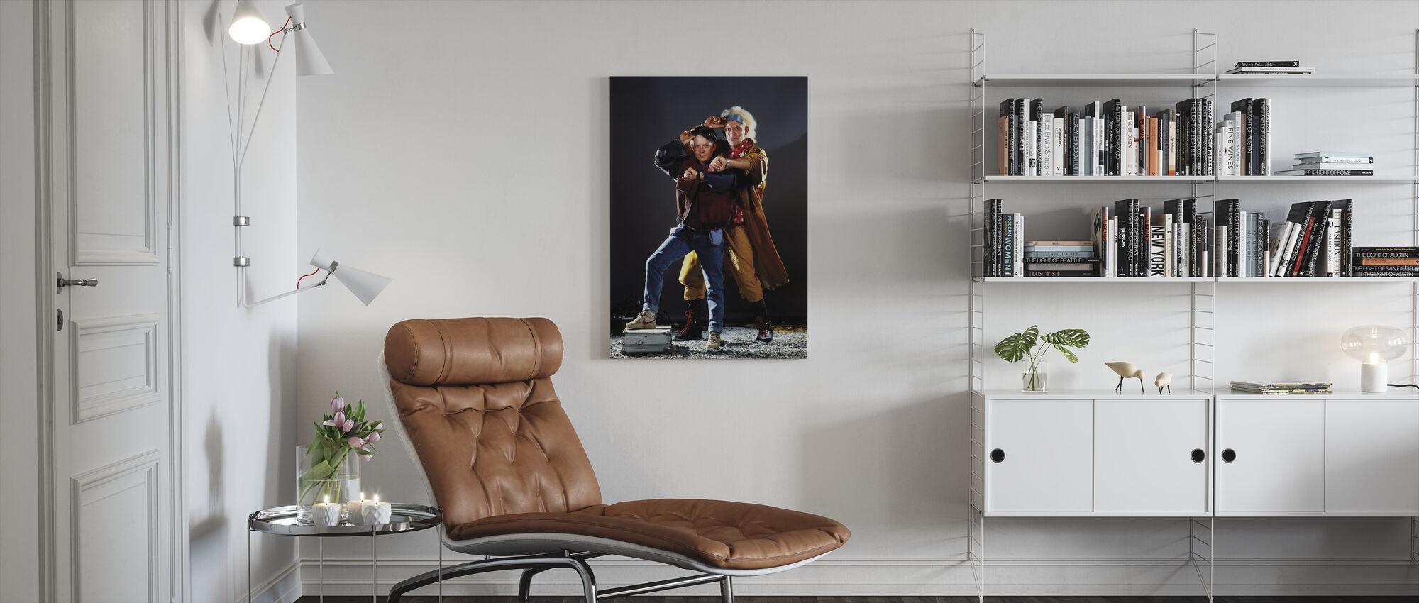 Back to the Future Part II - Canvas print - Living Room