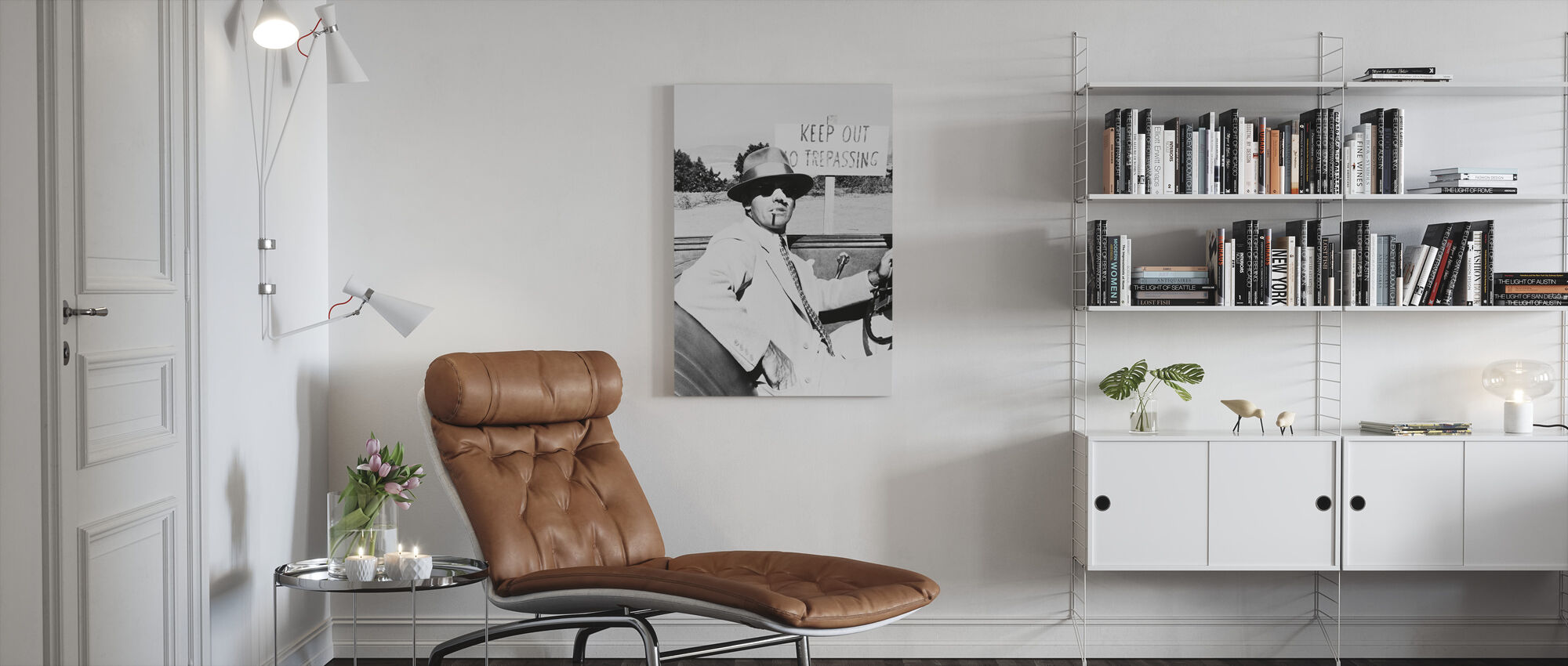 Jack Nicholson in Chinatown - Canvas print - Living Room