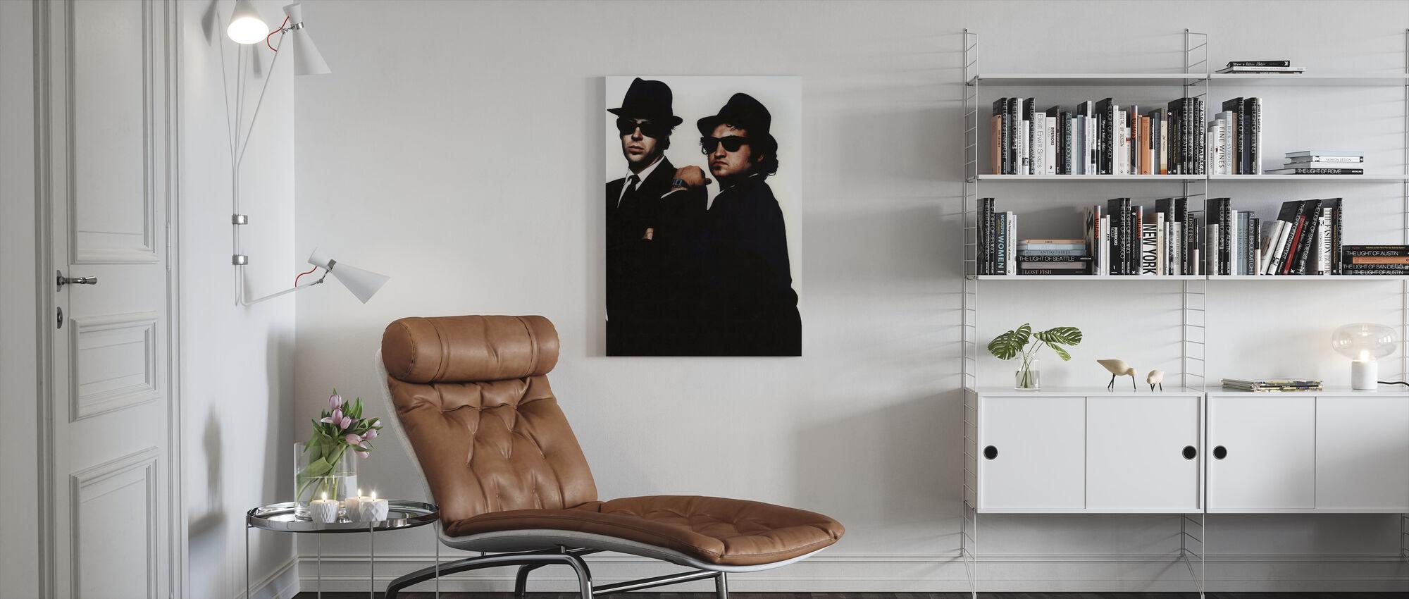 Blues-broers - Canvas print - Woonkamer