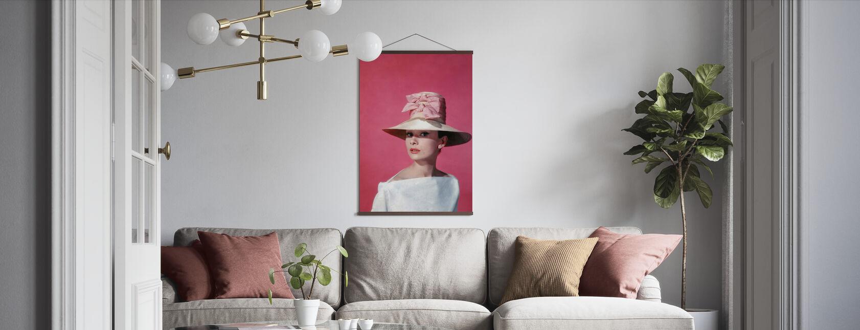 Audrey Hepburn in Funny Face - Poster - Living Room