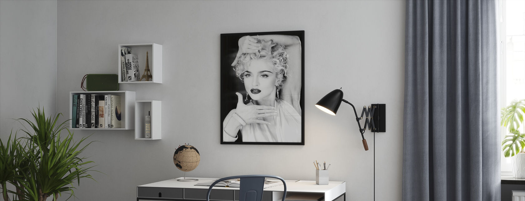 Madonna - Ingelijste print - Kantoor