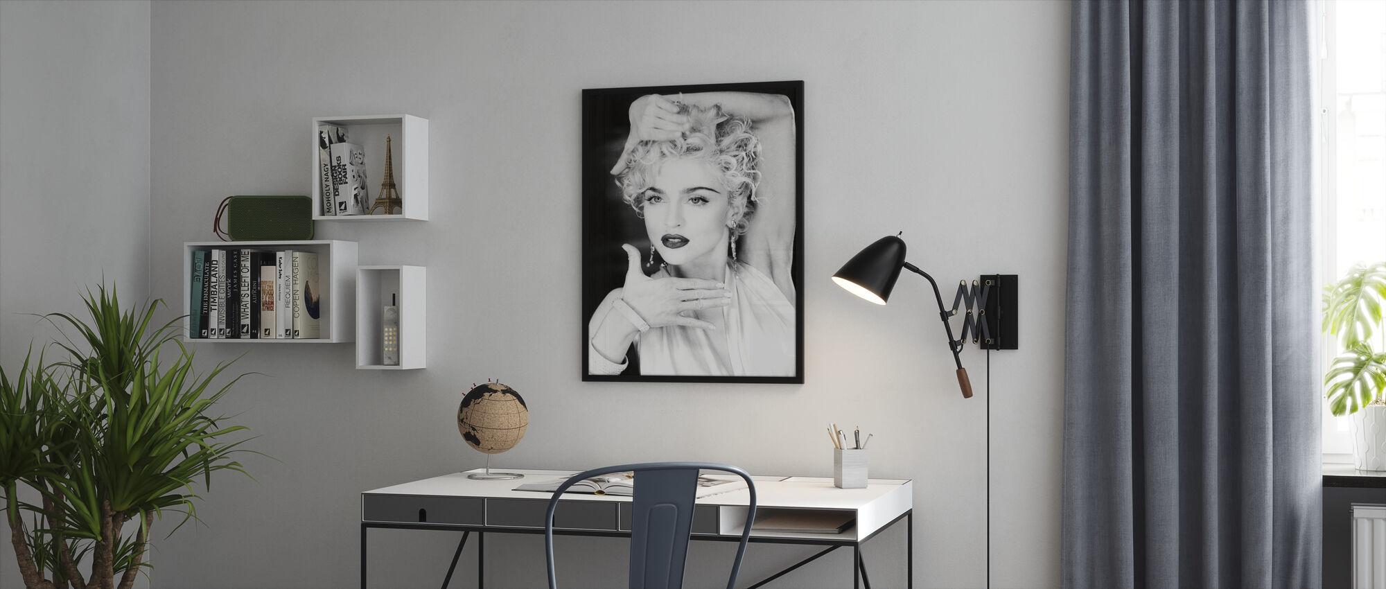 Madonna - Framed print - Office