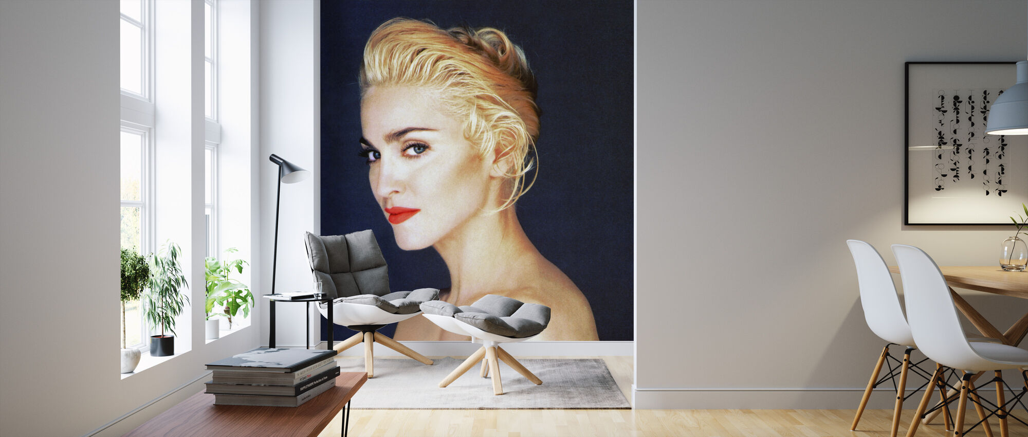 Madonna in Madonna Truth or Dare - Wallpaper - Living Room