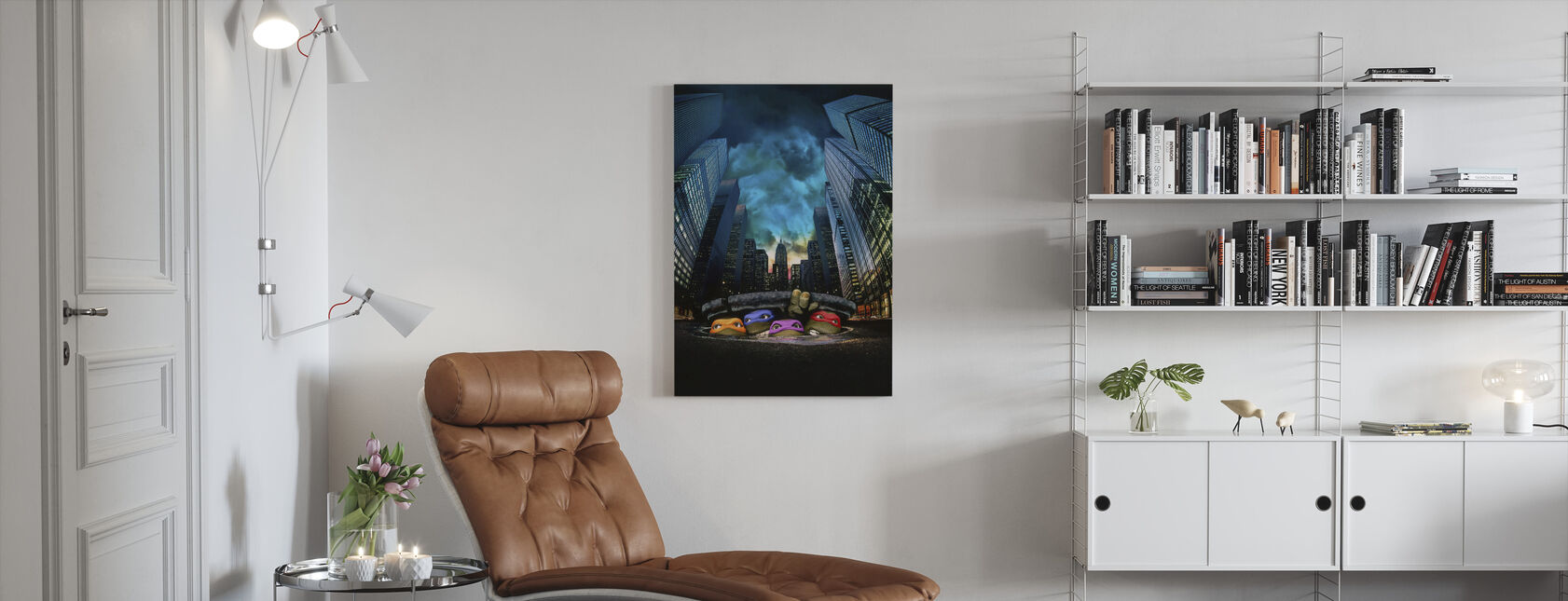 Teenage Mutant Ninja Turtles - Canvas print - Living Room