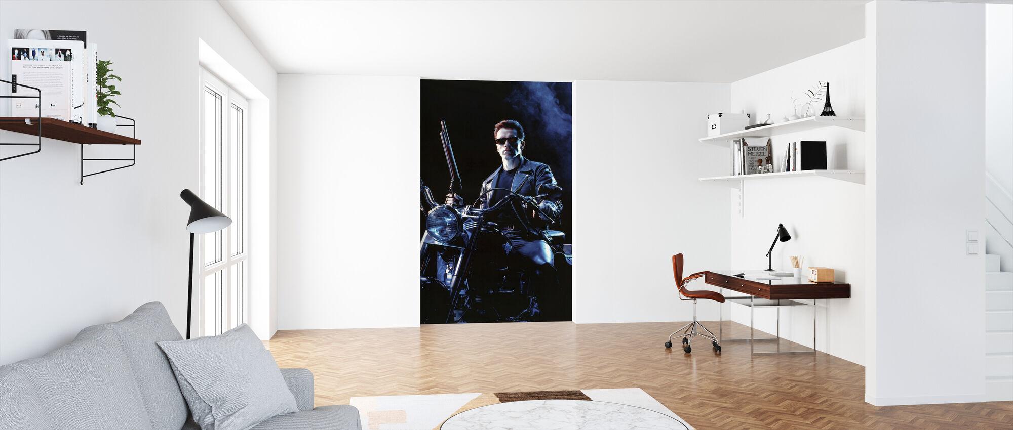 Terminator 2 Dommedag - Tapet - Kontor
