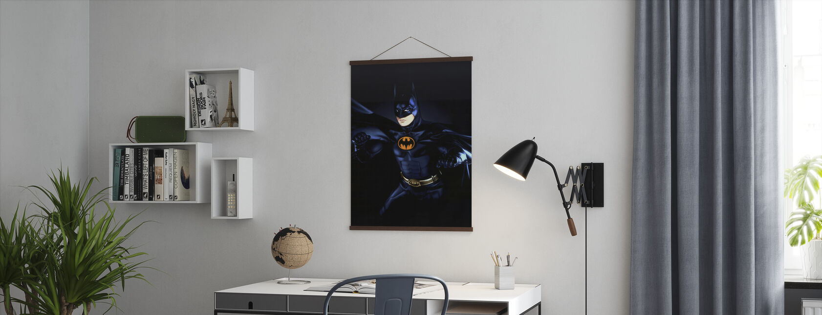 Michael Keaton in Batman Returns - Poster - Office