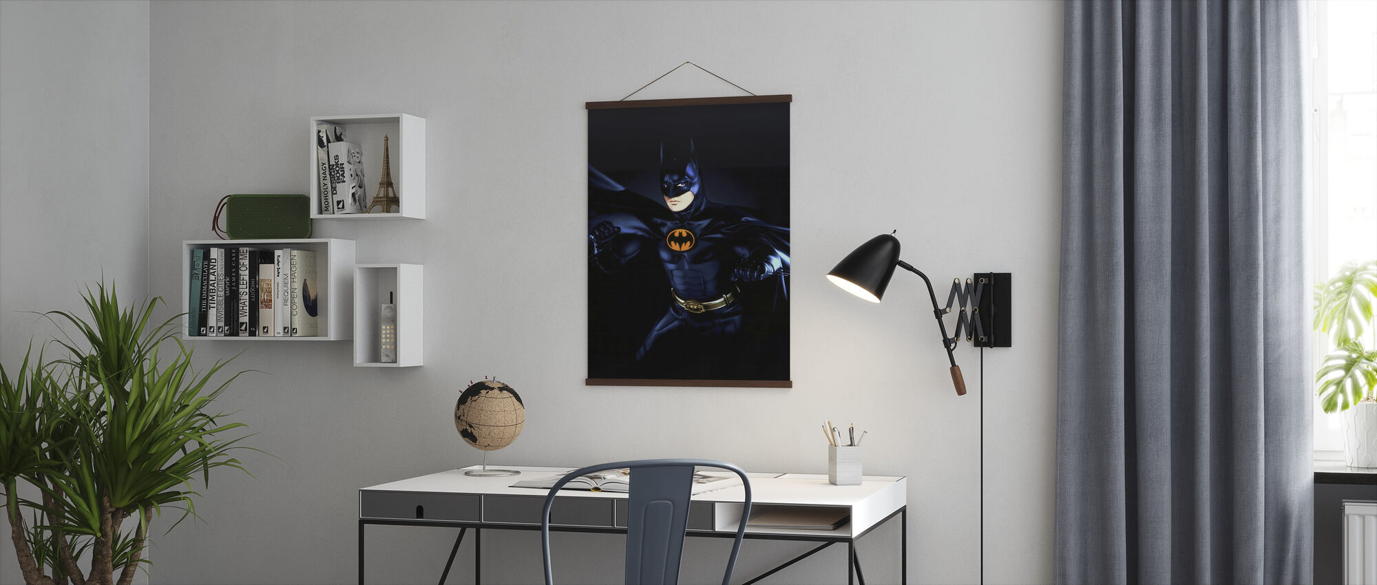 Michael Keaton in Batman Returns - Poster - Office