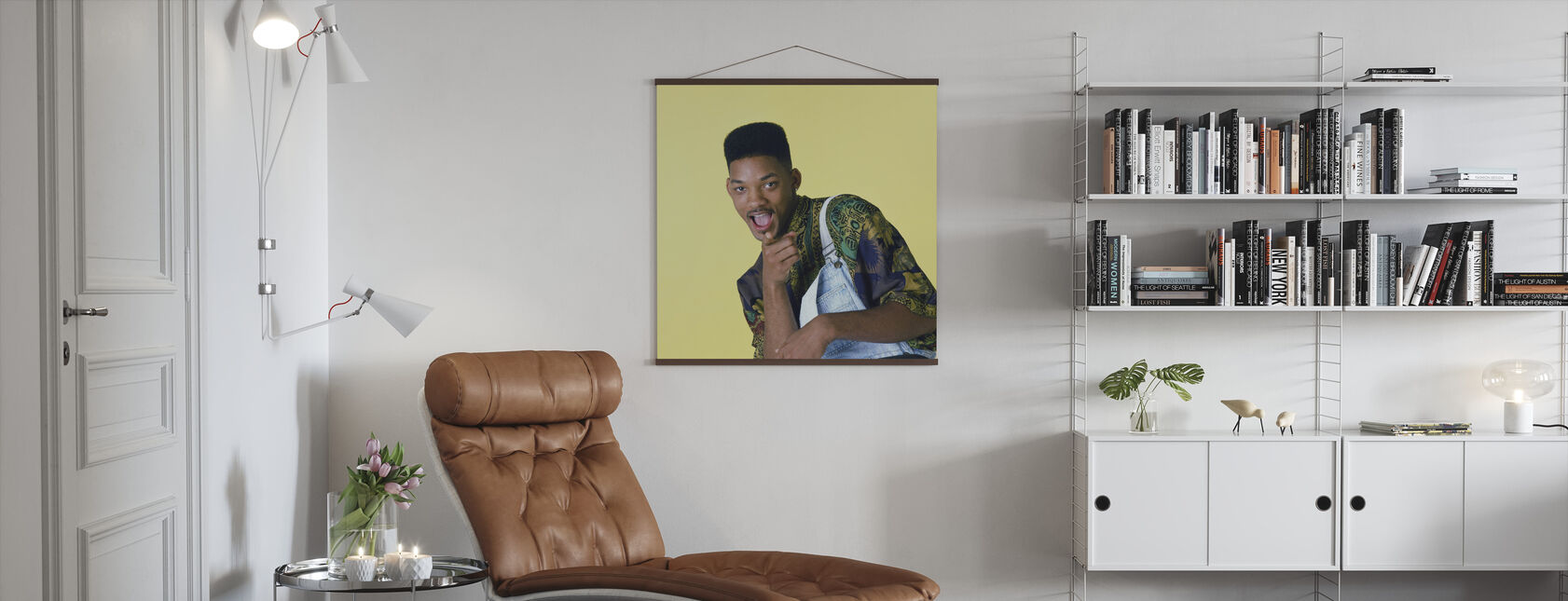 Will Smith in the Fresh Prince of Belair - Poster - Living Room