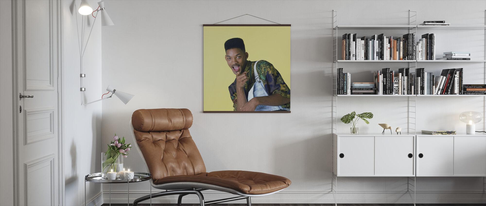 Will Smith in de verse prins van Belair - Poster - Woonkamer