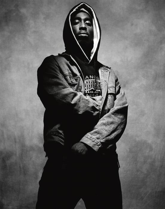 Tupac Shakur In Juice Trendy Wall Mural Photowall
