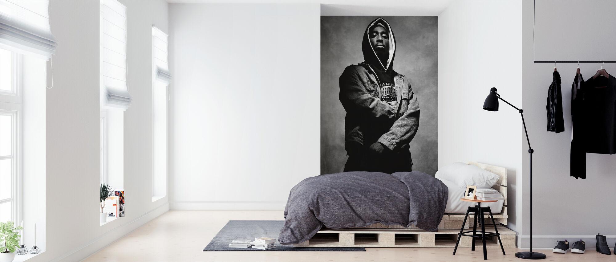 Tupac Shakur im Saft - Tapete - Schlafzimmer