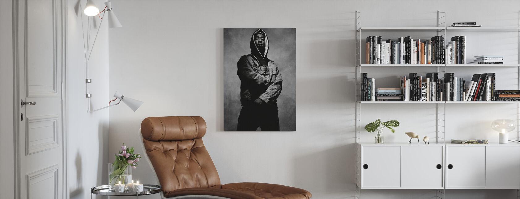 Tupac Shakur in Juice - Canvas print - Living Room