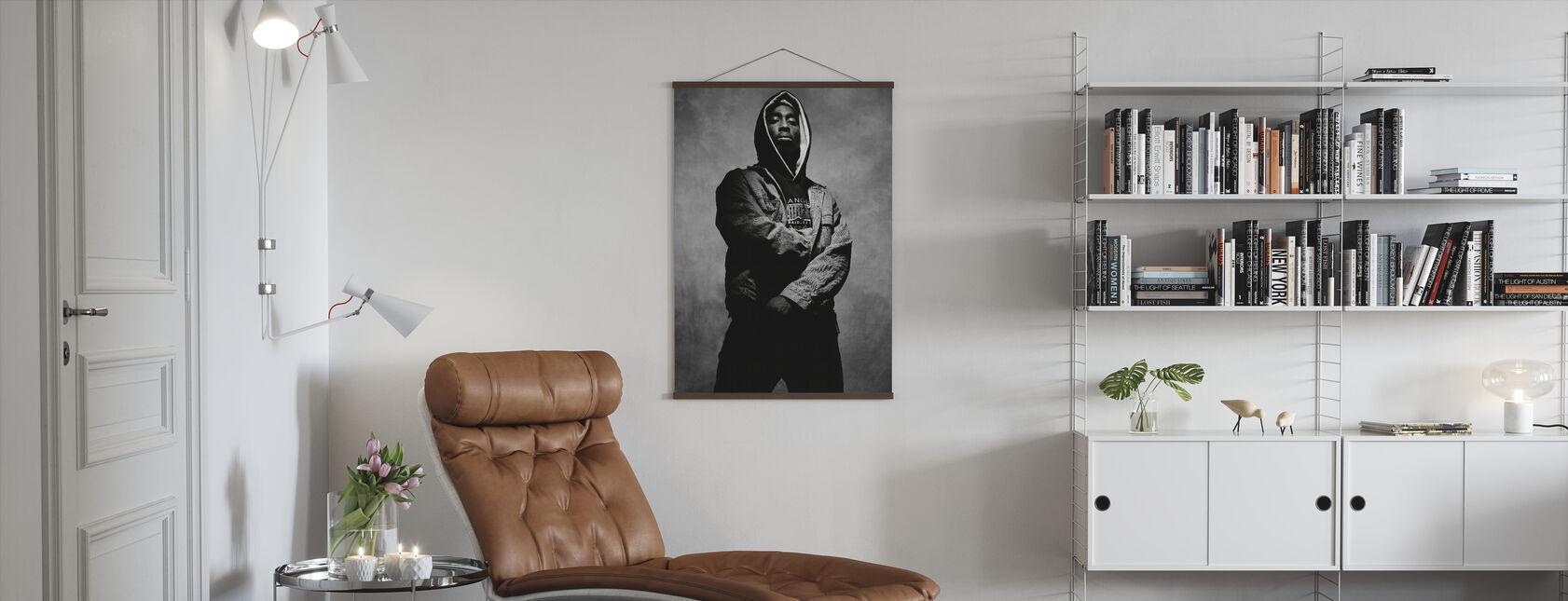 Tupac Shakur i juice - Plakat - Stue